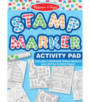 Stamp Marker Activity Pad-Blue, , hi-res