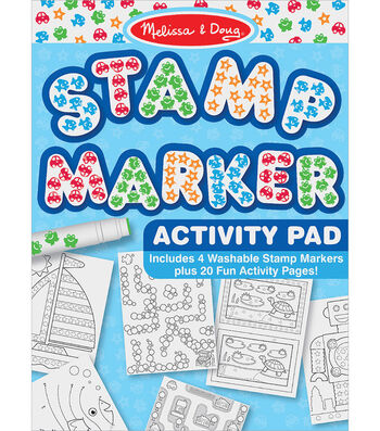 Stamp Marker Activity Pad-Blue