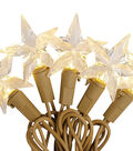 Maker\u0027s Holiday 25ct Battery Operated LED String Lights-Star