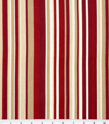 """Home Essentials Print Fabric 45""""-Glee/Red"""