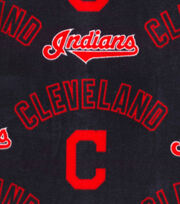 "Cleveland Indians Fleece Fabric 58""-New Block C, , hi-res"