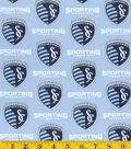 Sporting Kansas City Cotton Fabric 58\u0022-Logo