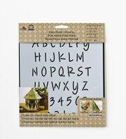 FolkArt® Painting Stencils - Laser - Alphabet Lite Felt Tip Marker, , hi-res