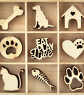 Themed Mini Wooden Flourishes-Pets