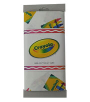 Crayola® Fabric 1yd Cut-Boxes Tossed White, , hi-res