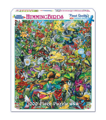 White Mountain Puzzles Jigsaw Puzzle Hummingbirds