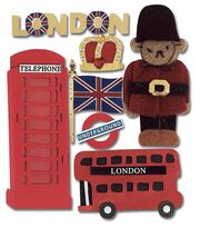 Jolee's Boutique Themed Stickers-London, , hi-res
