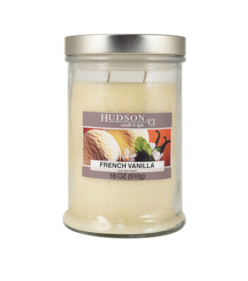 Hudson 43™ Candle & Light Collection 18oz French Vanilla Jar