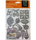 Cricut Cuttlebug Holiday Sampler Cut & Emboss Die Set