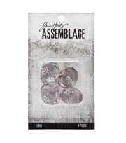 Tim Holtz® Assemblage Pack of 4 Large Crystals Links, , hi-res