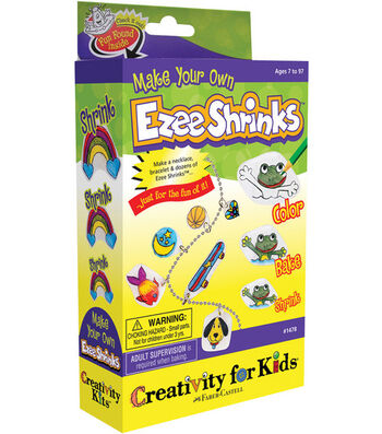 Creativity for Kids Kit-Make Your Own Ezee Shrinks