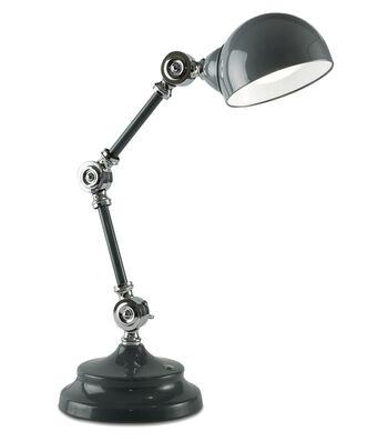 OttLite® Parker Table Lamp-Dark Grey