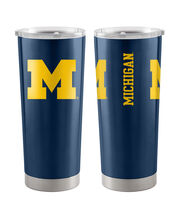 University of Michigan 20 oz Insulated Stainless Steel Tumbler, , hi-res