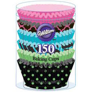 Wilton® Standard Baking Cups-Neon Darks 150/Pkg, , hi-res
