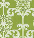 Waverly Upholstery Fabric 54\u0022-Fun Floret/Spruce