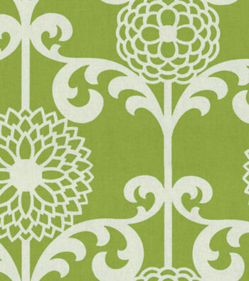 "Waverly Upholstery Fabric 54""-Fun Floret/Spruce"