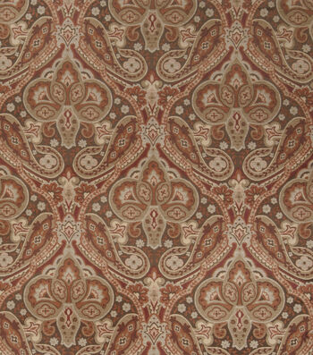 Jaclyn Smith Upholstery Fabric-Coach /Spicewood