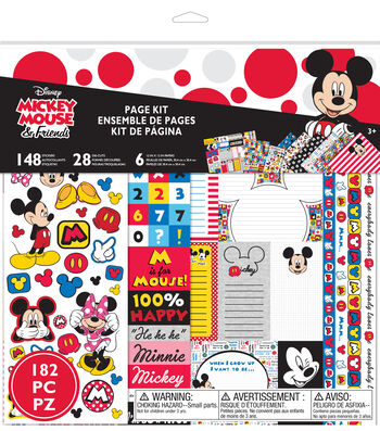 Disney® Page Kit-Mickey Mouse & Friends