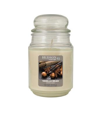 Hudson 43™ Candle & Light Collection 18oz Value Jar Vanilla Bean