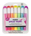 Tulip Fabric Spray Paint Sets Neon 7PK