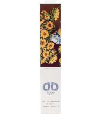 "Diamond Embroidery Facet Art Kit 25.2""X31.5""-Sunflowers"
