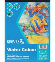 "Water Colour Paper Pad 9""X12"", , hi-res"