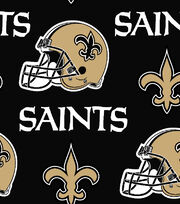 "New Orleans Saints Cotton Fabric 58""-Helmet Logo, , hi-res"