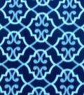 Blizzard Fleece Fabric-Navy Wallpaper