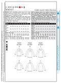 Mccall Pattern V8597 Aa (6-8-10-Vogue Pattern