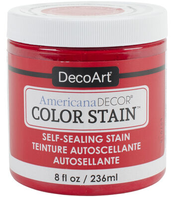 Americana Color Stains White
