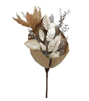 Blooming Holiday 24'' Stems Wrapped in Paper-Champagne, , hi-res