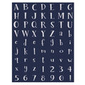 Foam Alphabet Stickers 63 pk-Tinkerbell