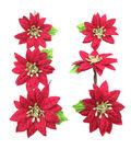 Blooming Holiday 3\u0027\u0027 Bagged Poinsettias-Red