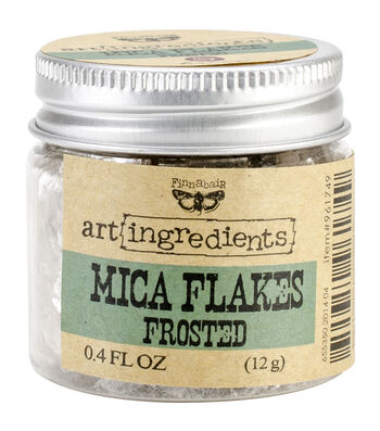 Art Ingredients Mica Flakes 1oz-Frosted