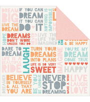 Kaisercraft Dream Big Illusions Double-Sided Cardstock, , hi-res