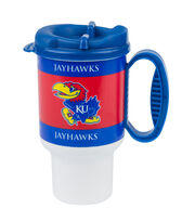 University of Kansas 20oz Travel Mug, , hi-res