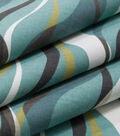 Robert Allen @ Home Print Fabric 55\u0022-Ribbon Line Rain