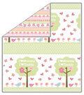 No Sew Fleece Throw 48\u0022-Lullabye Pink
