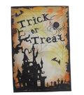 Maker\u0027s Halloween Flag 12\u0022x18\u0022-Spooky House & Trick or Treat