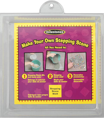 Stone Craft Stepping Stone Molds-8''