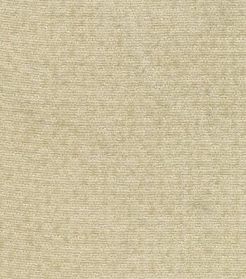 "Signature Series Solid Chenille Fabric 54""-Beige"