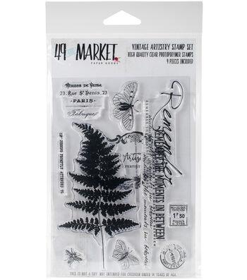 """Vintage Artistry Stamp Set 4""""X6"""""""