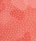 Keepsake Calico™ Cotton Fabric 43\u0022-Fusion Coral Dot Blender