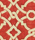 Waverly® Artistic Twist Upholstery Fabric 54\u0022-Poppy