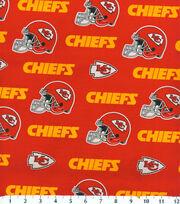 "Kansas City Chiefs Cotton Fabric 58""-Mascot Logo, , hi-res"