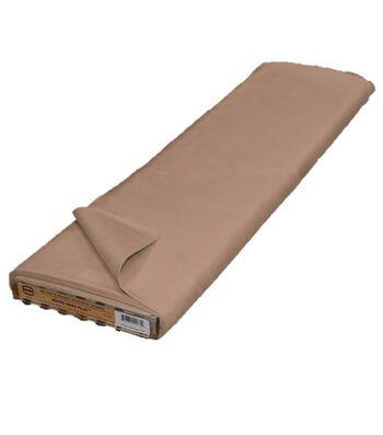 Roc-lon® Mardi Gras Plus Suede Finish Fabric-Brown