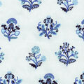 Williamsburg Upholstery Fabric-Esra Embroidery/Porcelain