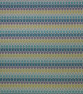 Richloom Studio Print Fabric 54\u0022-Vanish/Aquamarine