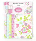Land of Whimzie Sophie Flannel Blanket Squares - 12 pieces 10.5\u0022 x 10.5\u0022