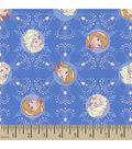 Disney® Frozen Corduroy Fabric 43\u0022-Winter Magic Snowflake